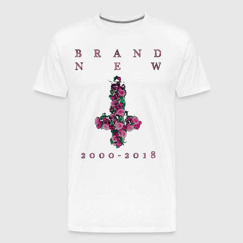Brand New Farewell Cross - Men's Premium T-Shirt