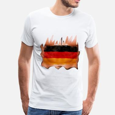 Torn Apart germany sixpack - Men's Premium T-Shirt