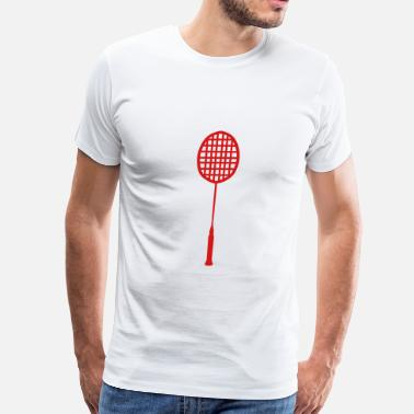 Racket Badminton racket badminton 0 - Men's Premium T-Shirt