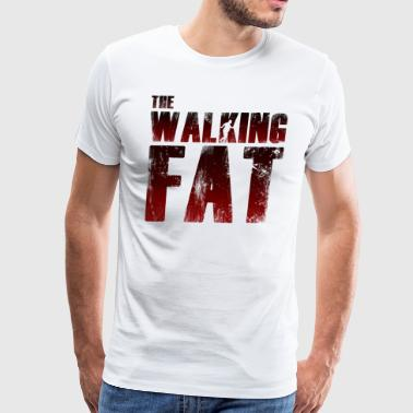 Fat Guys FAT | The Walking Fat - Men's Premium T-Shirt