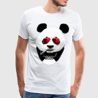 Panda Boss - Men's Premium T-Shirt