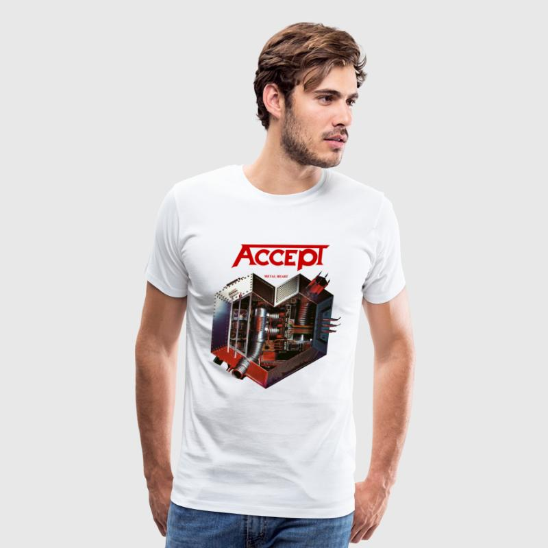 Accept Metal Heart 85 - Men's Premium T-Shirt