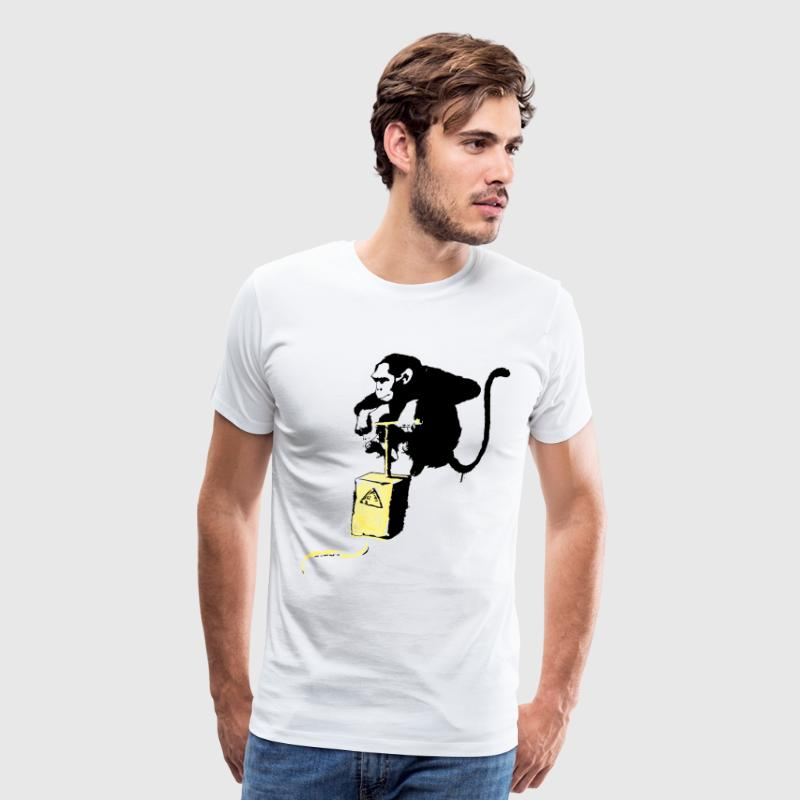 Monkey Detonator - Men's Premium T-Shirt