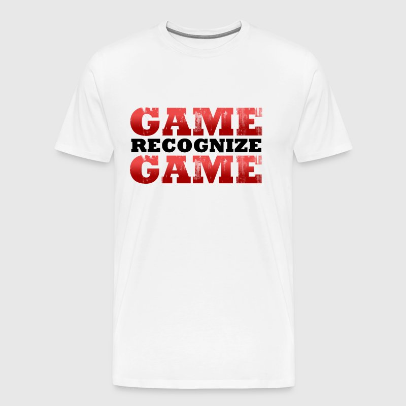 Game Recognize Game Design - Men's Premium T-Shirt