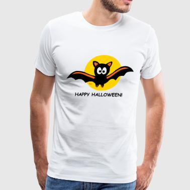 Happy Halloween bat Moon Vampire Costume  - Men's Premium T-Shirt