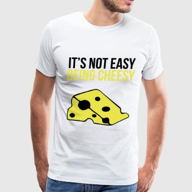 cheesy - Men's Premium T-Shirt