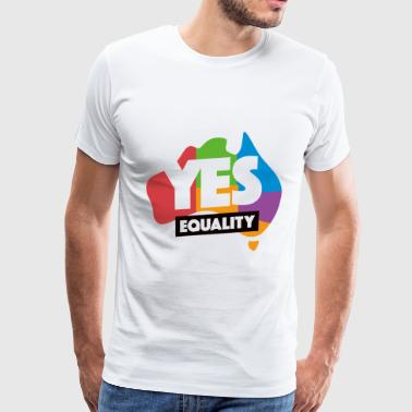 yes vote in marriage equality - Men's Premium T-Shirt