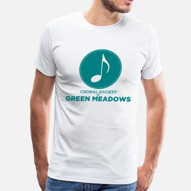 Meadow Choral Society of Green Meadows - Men's Premium T-Shirt