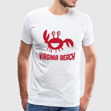 Virginia Beach - Men's Premium T-Shirt