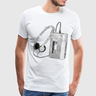 Walkman - Men's Premium T-Shirt