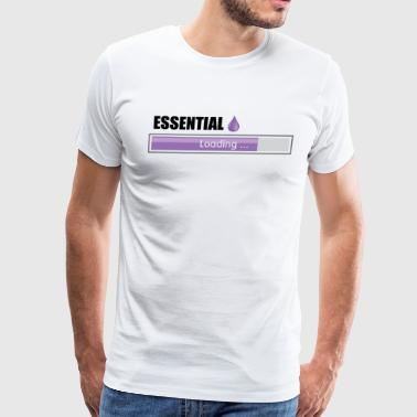 ESSENTIAL OIL - Men's Premium T-Shirt