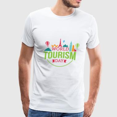 tourism - Men's Premium T-Shirt