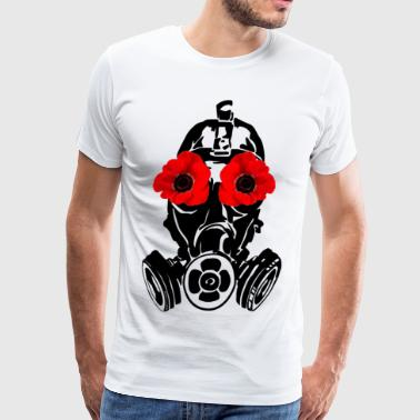 Poppy Mask - Men's Premium T-Shirt
