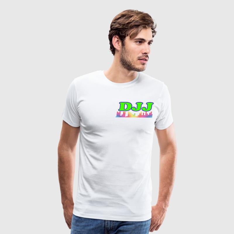 DJJ audio spectrum - Men's Premium T-Shirt