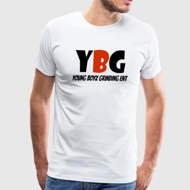 YBG Original Logo - Men's Premium T-Shirt
