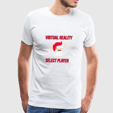 Groove Virtual Reality - Select Player - Men's Premium T-Shirt