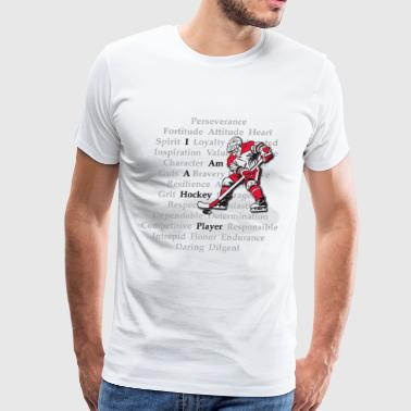I am a Hockey Player - Men's Premium T-Shirt