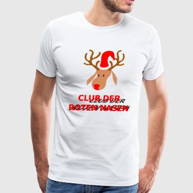 Tree Form Club der roten Nasen - Men's Premium T-Shirt