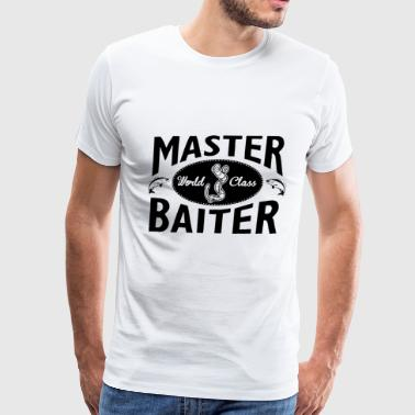Barf Fuck Fishing – Master baiter - Men's Premium T-Shirt