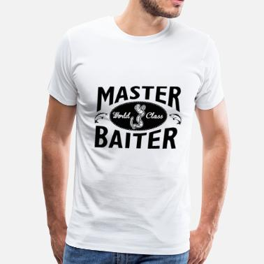 Master Baiter Fishing Club Fishing – Master baiter - Men's Premium T-Shirt