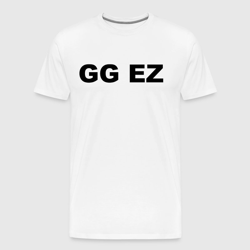 gg ez - Men's Premium T-Shirt