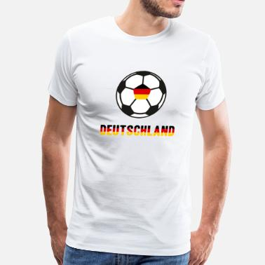 Flag Of Germany Soccer Germany World Championship WM 2018 - Men's Premium T-Shirt