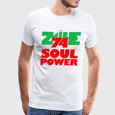 1974 Zaire Music Festival - Men's Premium T-Shirt