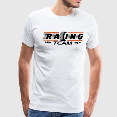 Racing team - Men's Premium T-Shirt