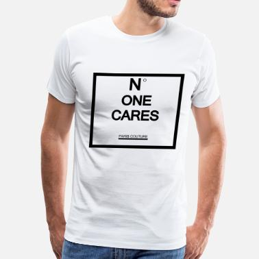 Shh n one cares - Men's Premium T-Shirt