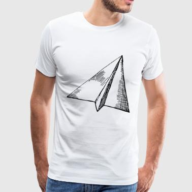Paper Airplane Paper Airplane - Flight - Men's Premium T-Shirt