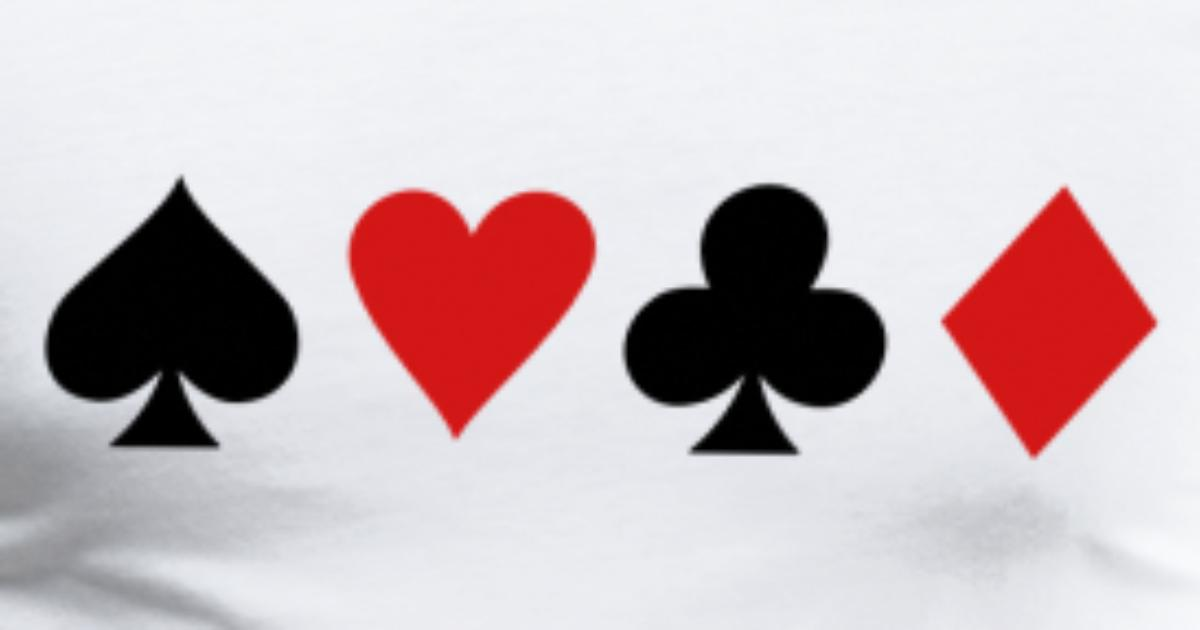 Playing Card Symbols By Rustydoodle Spreadshirt