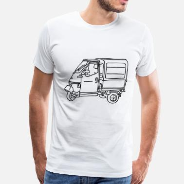 Tricycle Tricycle Transporter - Men's Premium T-Shirt