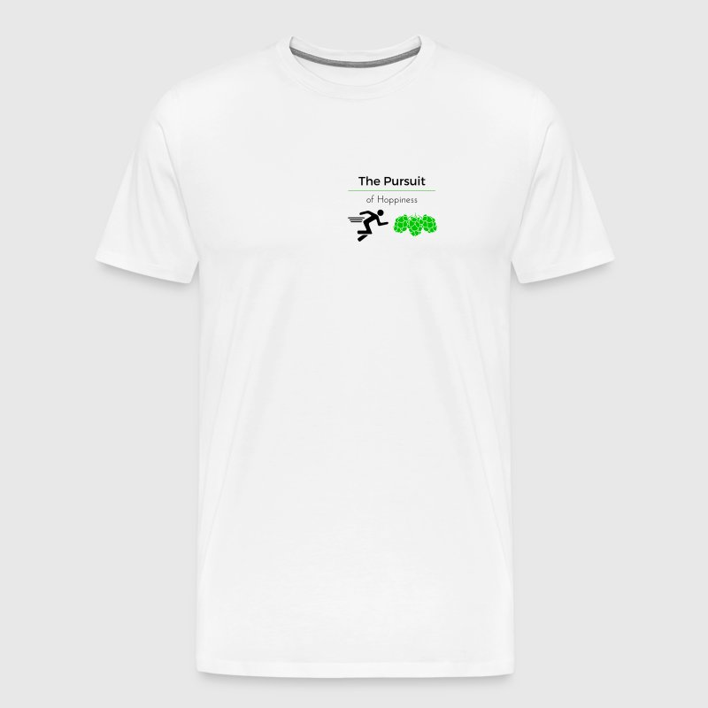 The Pursuit of Hoppiness - Men's Premium T-Shirt