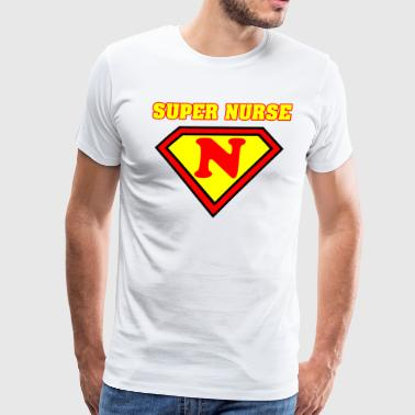Super Nurse SUPER NURSE T-Shirt - Men's Premium T-Shirt
