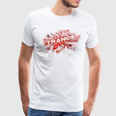 Trance – Electronic Dance Music - Men's Premium T-Shirt
