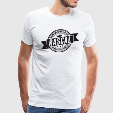 Vintage RASCAL quotes - Good and better! - Men's Premium T-Shirt