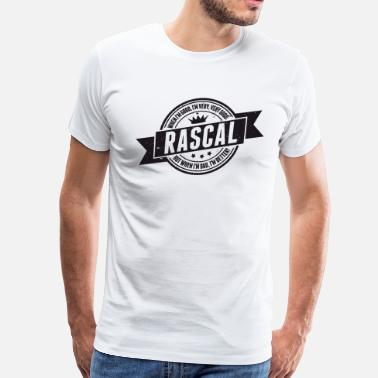 Rascal Vintage RASCAL quotes - Good and better! - Men's Premium T-Shirt