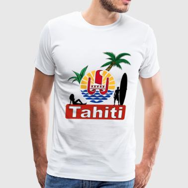 tahiti - Men's Premium T-Shirt