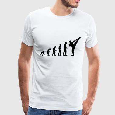 Evolution Kickboxing - Men's Premium T-Shirt