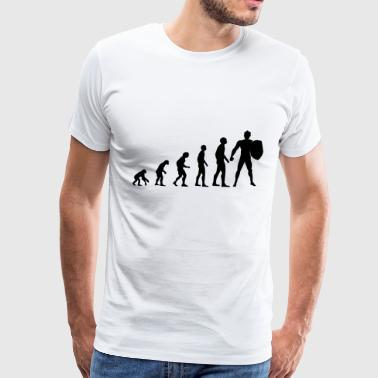 Evolution Spartaner - Men's Premium T-Shirt