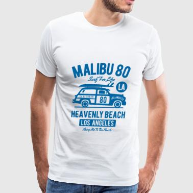 Malibu Beach - Men's Premium T-Shirt