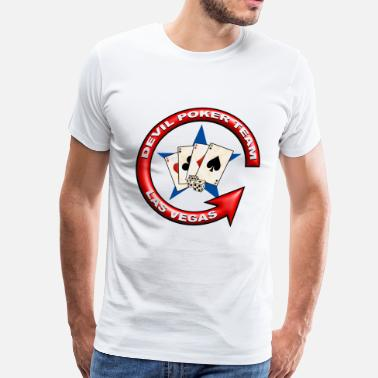 Poker devil team - Men's Premium T-Shirt