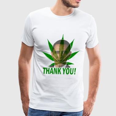 Thank You Obama Medical Marijuana - Men's Premium T-Shirt
