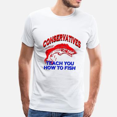 Liberal Savage Liberals Take Your Fish - Men's Premium T-Shirt