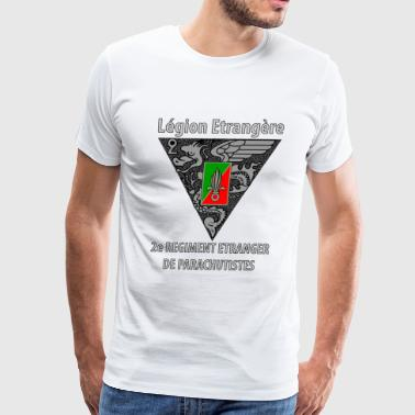 French Foreign Legion 2ndregiment - Men's Premium T-Shirt