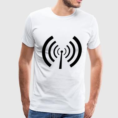 Radio Antenna Antenna - Men's Premium T-Shirt