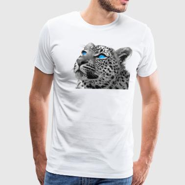 SNOW Leopard - Men's Premium T-Shirt