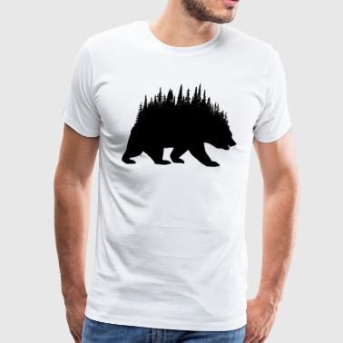 Forest Bear - Men's Premium T-Shirt