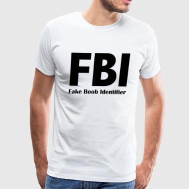 FBI - Fake Book Identifier - Men's Premium T-Shirt
