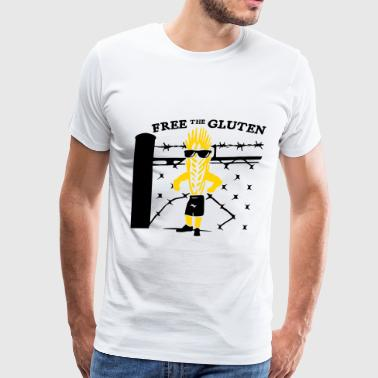 Free the Gluten - Men's Premium T-Shirt
